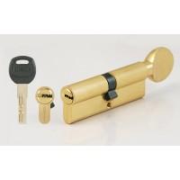 Цилиндровый механизм CORSARRE C.102-29.SB (90мм/45+45/Матовое Золото)